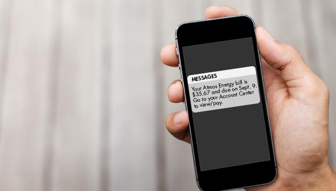receive customer notifications on your cell phone or by email